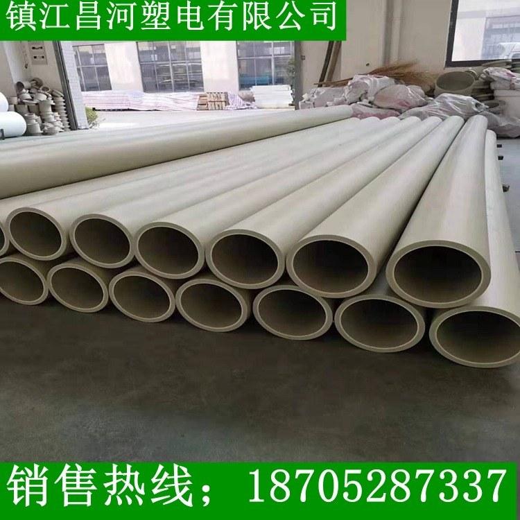 昌河塑电_pph管、厂家直销PPH管、耐腐蚀耐酸碱pph管道、均聚聚丙烯管