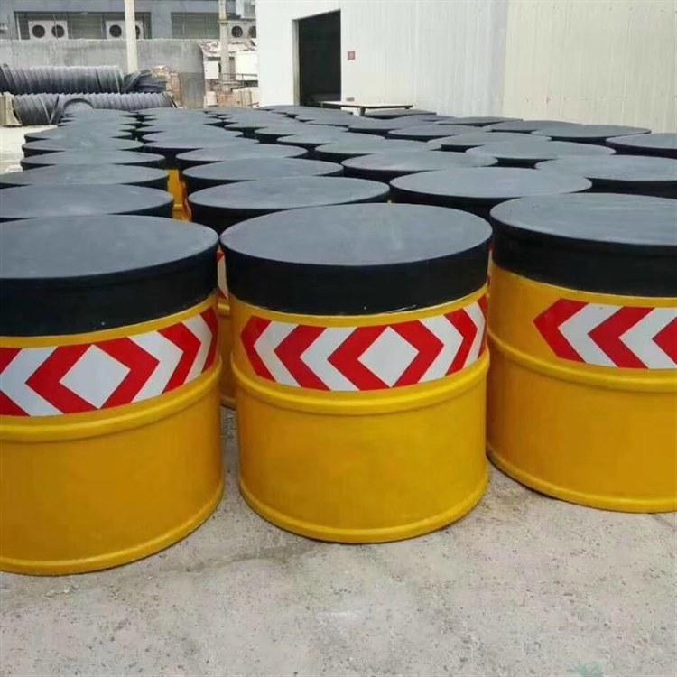 防撞桶 玻璃钢材质防撞桶 pvc防撞桶 规格齐全现货