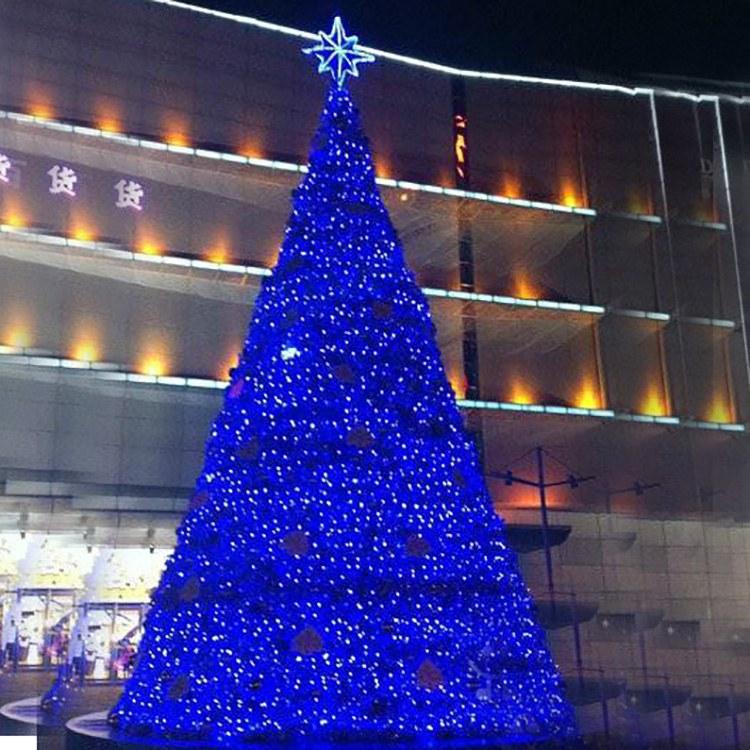 圣诞树 圣诞节景观布置 厂家供应专业户外场景大型圣诞树源头厂家