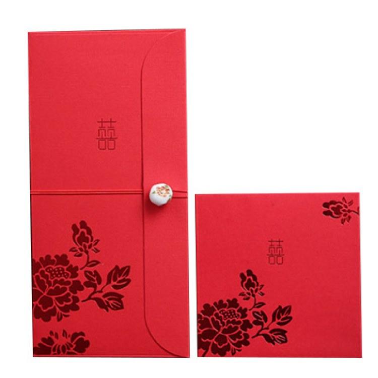 2020年红包定制 福字利是封礼金袋 烫银印刷红包袋 免费设计加LOGO-鑫佰盛
