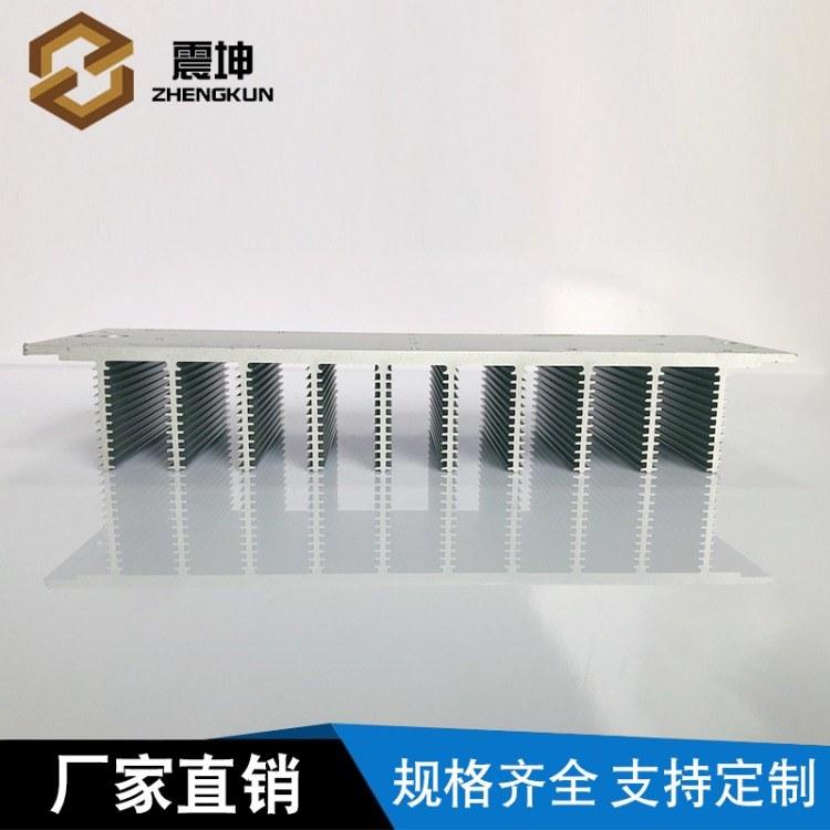 梳子型散热器 大功率铝型材电子散热器 超强散热板 工业挤压铝型材cnc加工
