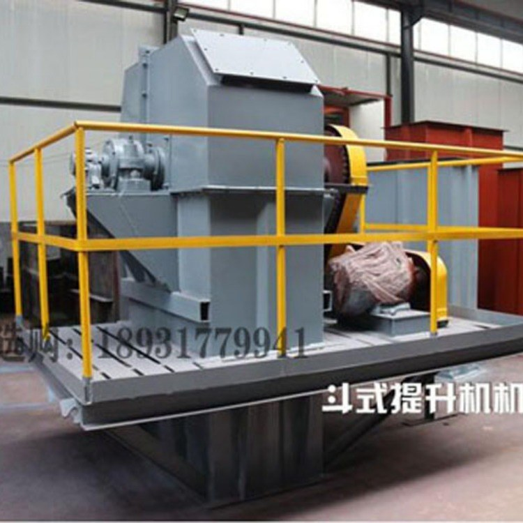 水泥物料垂直NE型100板链式斗式提升机厂家长期定制