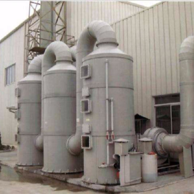 锐驰朗厂家直销工业PP喷淋塔 酸雾净化塔 废气处理设备
