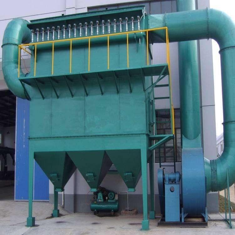 铸造厂小型脉冲布袋除尘器 煤矿厂PPC系列气箱式脉冲布袋除尘器 粉尘处理设备