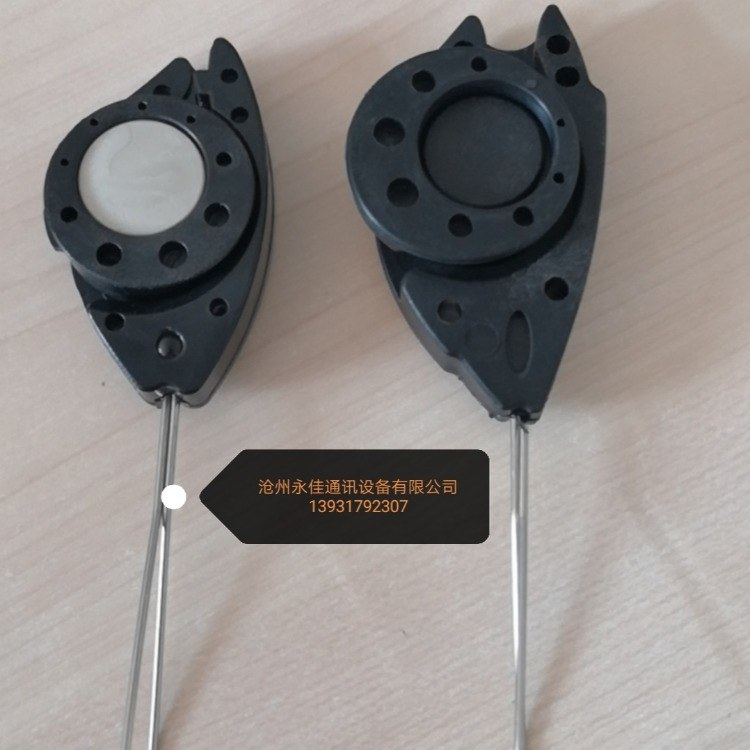 通信设备布线产品偏转固定夹具