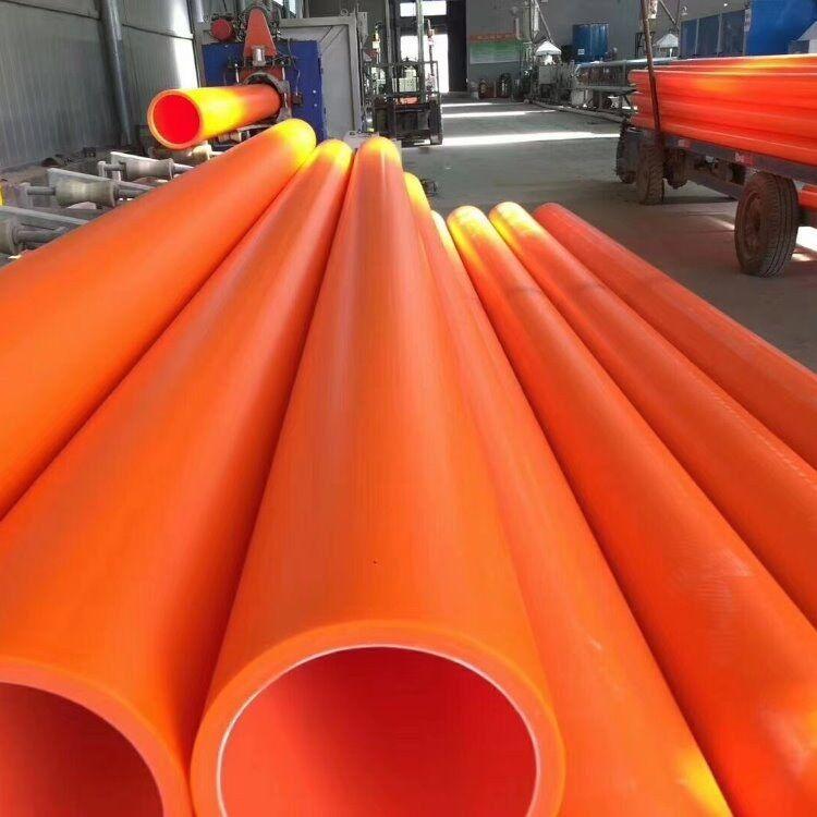 磊泰专用生产电力通讯mpp电力管 mpp拖拉顶管阻燃绝缘电力 cpvc电缆保护管 厂家直销MPP电缆保护管