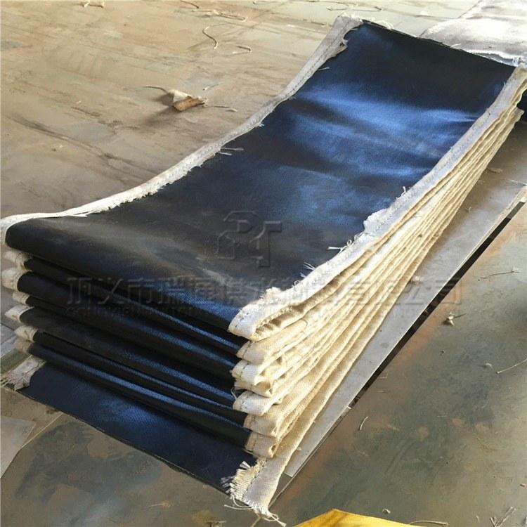 供应非金属织物蒙皮 矩形非金属织物硅胶蒙皮 瑞通品牌
