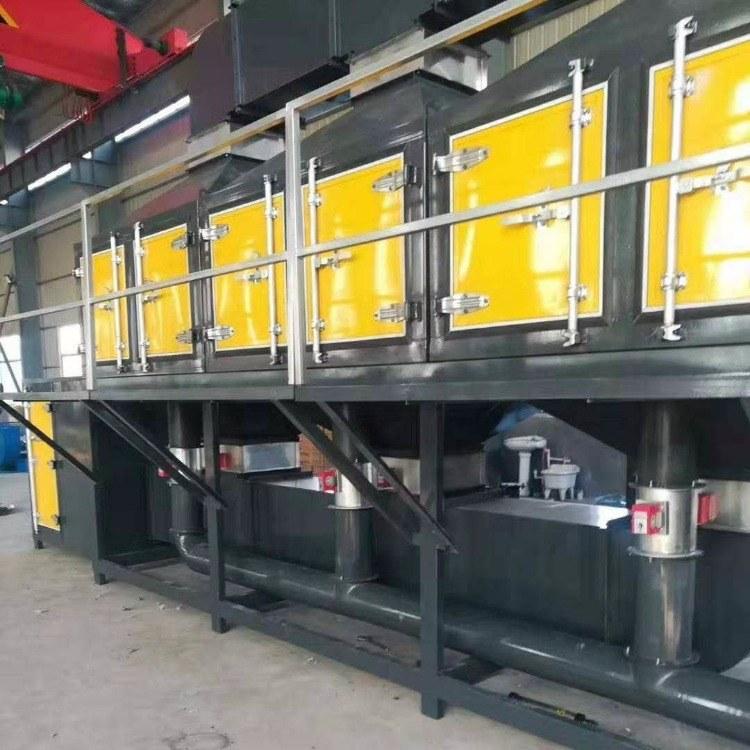 催化燃烧设备 喷漆房涂装废气处理活性炭吸附 有机废气处理设备 锐驰朗环保