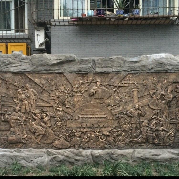 专业设计定制浮雕壁画-重庆浮雕壁画厂家-来图定制尽在艺久雕塑