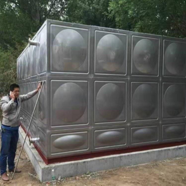 供应不锈钢水箱 消防水箱 地埋式箱泵一体化供水设备 厂家定制