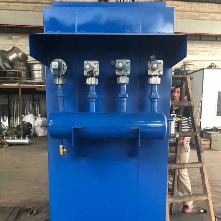 水泥搅拌站 顶仓除尘器 启创环保 除尘器设备厂家直销 水泥厂收尘器