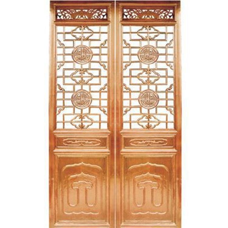 供应四合院仿古门窗 中式装修 实木材质 开封轩发木雕