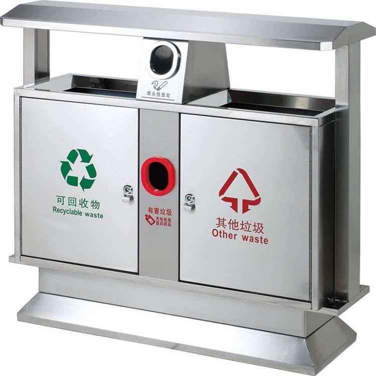 不锈钢垃圾桶 成都不锈钢垃圾桶 户外垃圾桶厂家定制