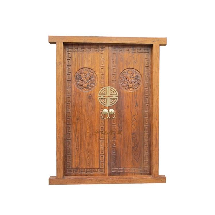 供应四合院仿古门窗 中式装修 实木材质 价格合理 开封轩发木雕