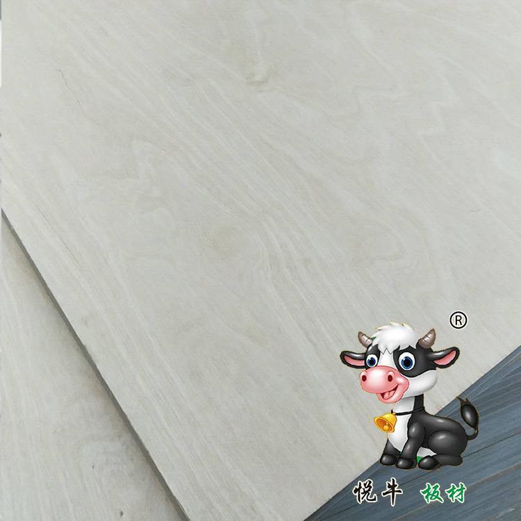 1220*2440mm悦牛桦木多层板批发价格 芯材整齐美观 层次分明