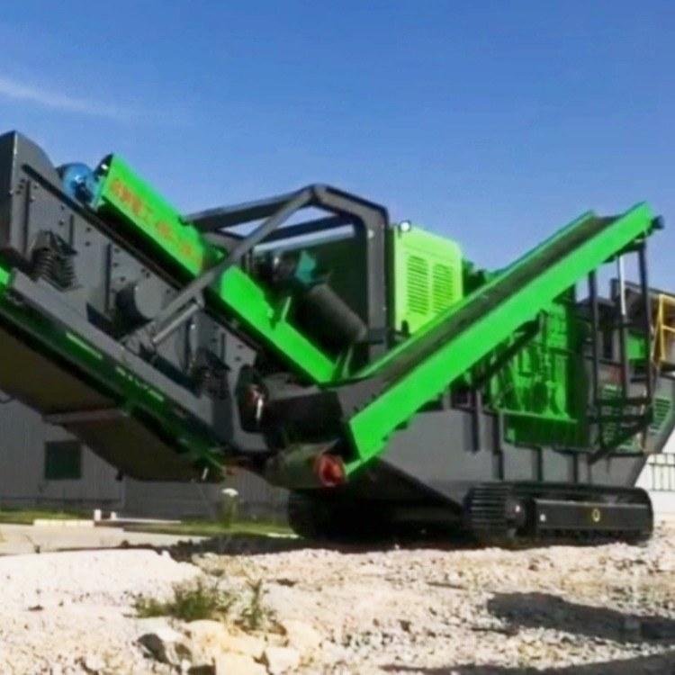 贵阳市工业机械移动破碎机移动破碎站厂家直供销售