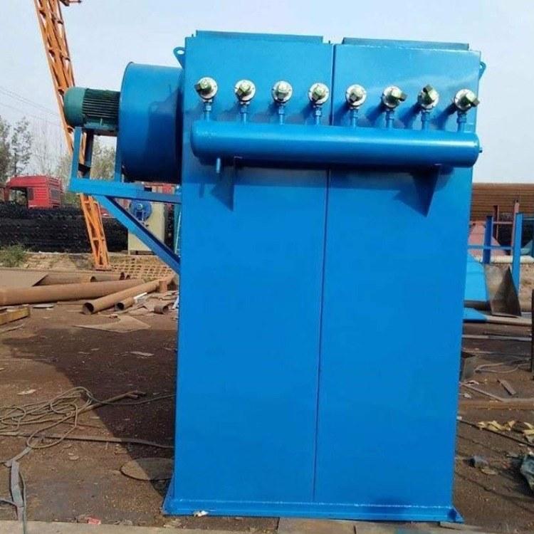 水泥厂除尘器  水泥厂粉尘处理设备 脉冲布袋除尘器 锐驰朗环保