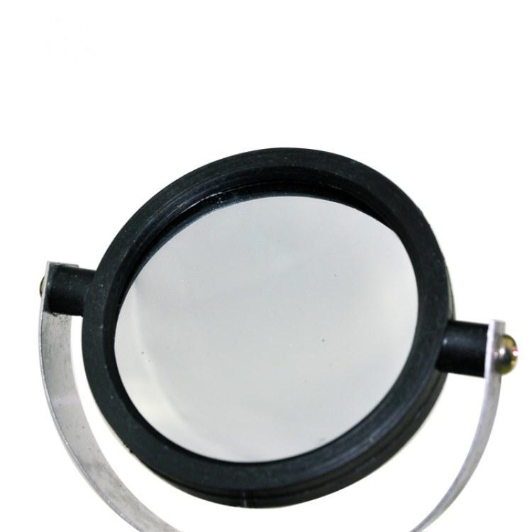 教学仪器厂家意涵25002凹面镜 带支架10CM直径 初中高中物理光学实验器材 高中教学仪器