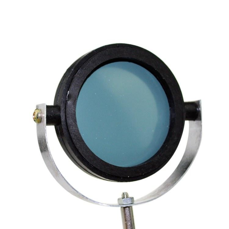 教学设备厂家意涵25002凹面镜 带支架10CM直径 初高中物理光学实验器材 物理教学科教仪器