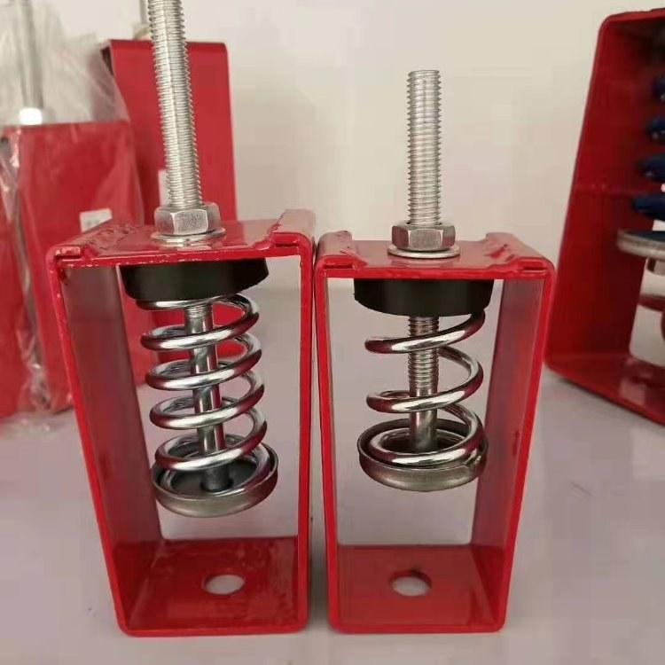 泰福达工厂直供吊式弹簧减震器  减震吊架  楼面减震气垫式减震器