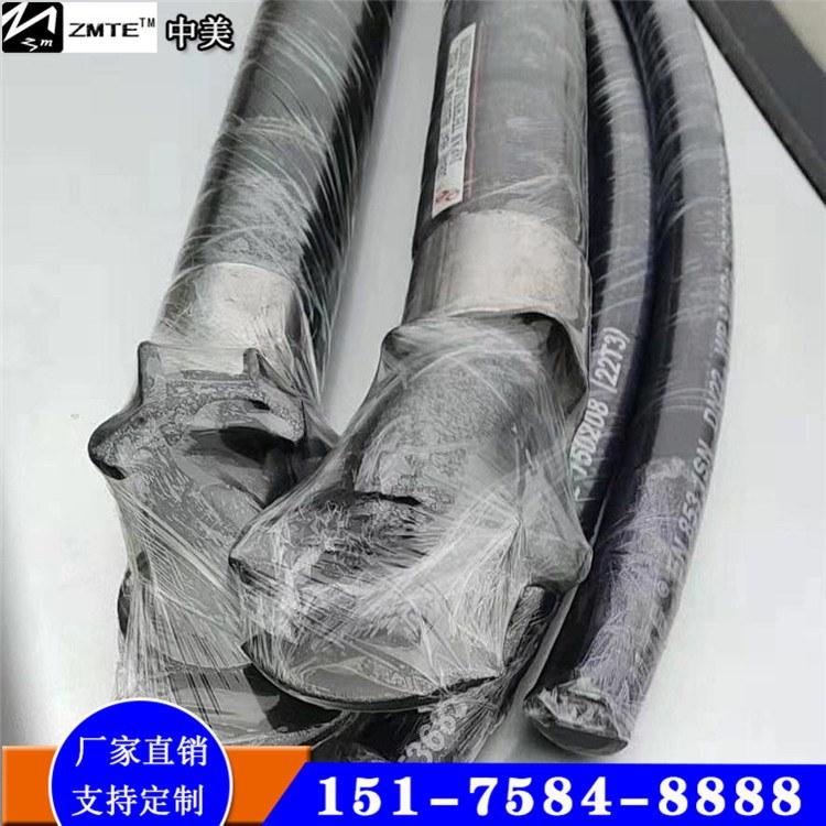 中美 火车加温用蒸汽胶管 优质低压夹布蒸汽胶管生产厂家