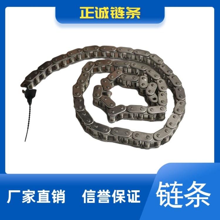 宁津正诚 专业生产 不锈钢单节距滚子链条 双节距空心滚子链 欢迎咨询