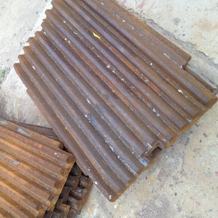 天成供应鄂破机配件 超高锰钢鄂板 带磁耐磨鄂板 可定制