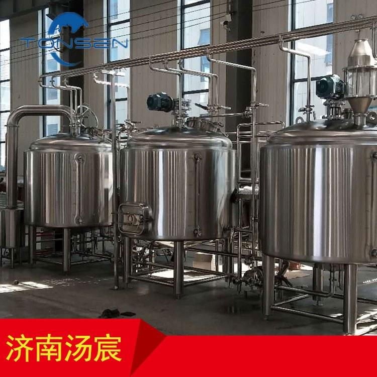 汤宸定制酒吧啤酒体验馆小型糖化精酿啤酒设备