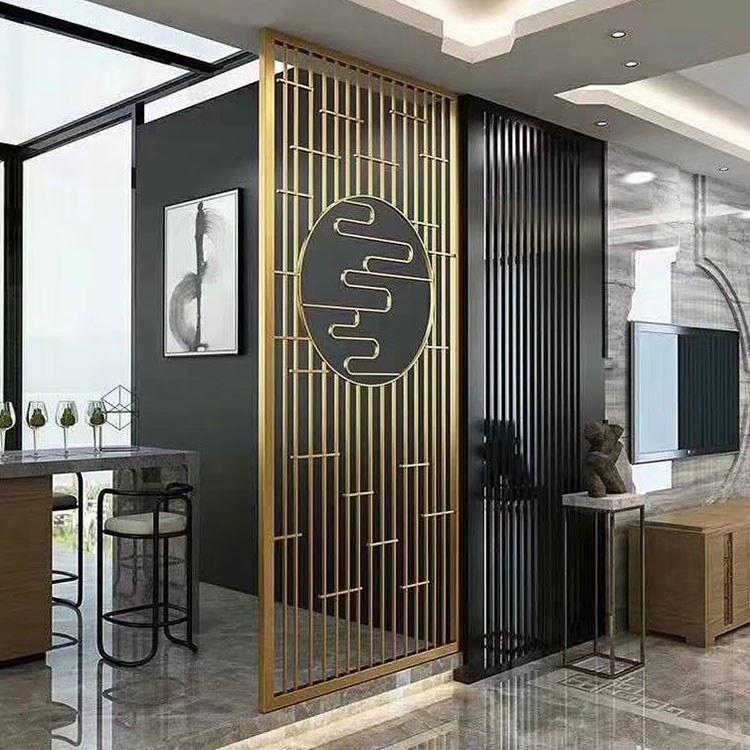 威宇高质量铜屏风生产厂家价格咨询 成都客厅隔断屏风各种效果定做厂家直供咨询