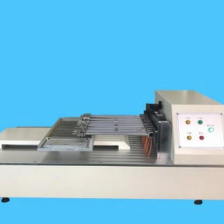 九工位焊带电池片剥离力试验机