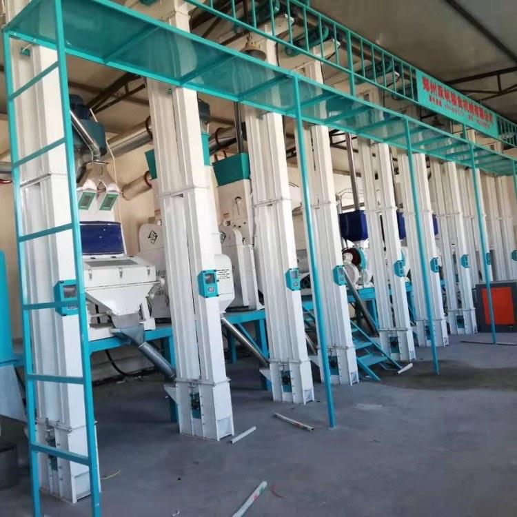 双帆机械 精品小米加工设备 40吨成套小米加工设备厂家