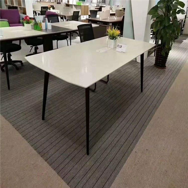 洛阳博业办公家具新款会议桌 长方形办公桌简约现代桌