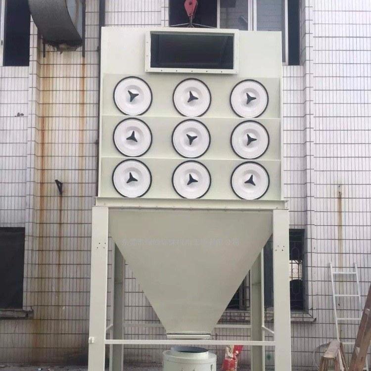 工业滤筒除尘器 粉末回收 高浓度粉尘滤筒除尘器-锐驰朗环保