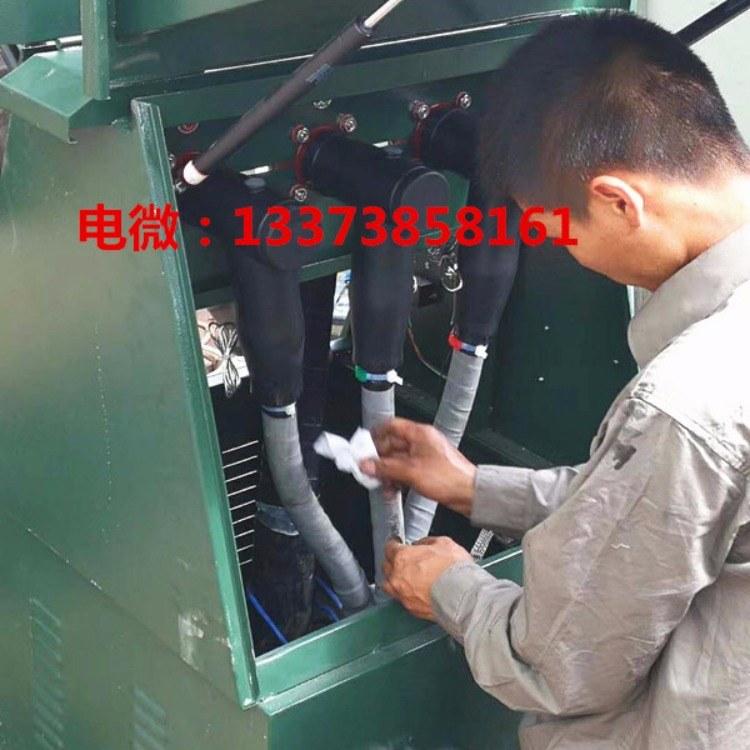 10KV插拔式一进三出电缆分支箱配套冷缩终端头