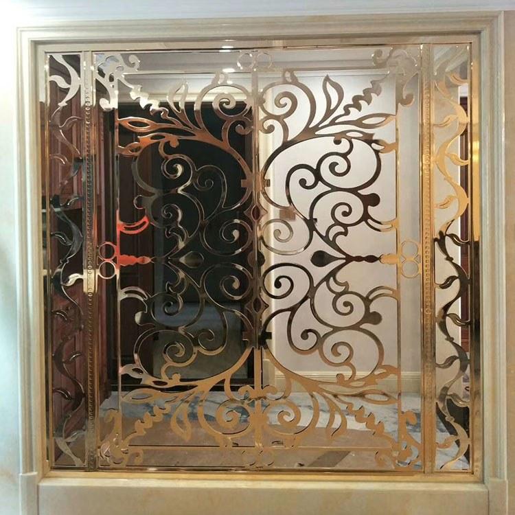 威宇 高质量铜屏风生产厂家 价格可咨询 隔断铜屏风 厂家直供咨询