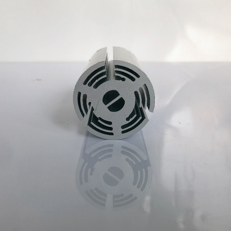 工业挤压铝型材 电子散热器型材 LED灯具散热器铝压铸定制厂家