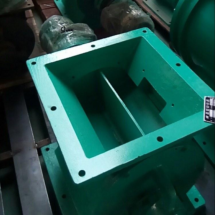 直销方口星型除尘器 耐高温电动卸灰阀配件防爆连接式 优质