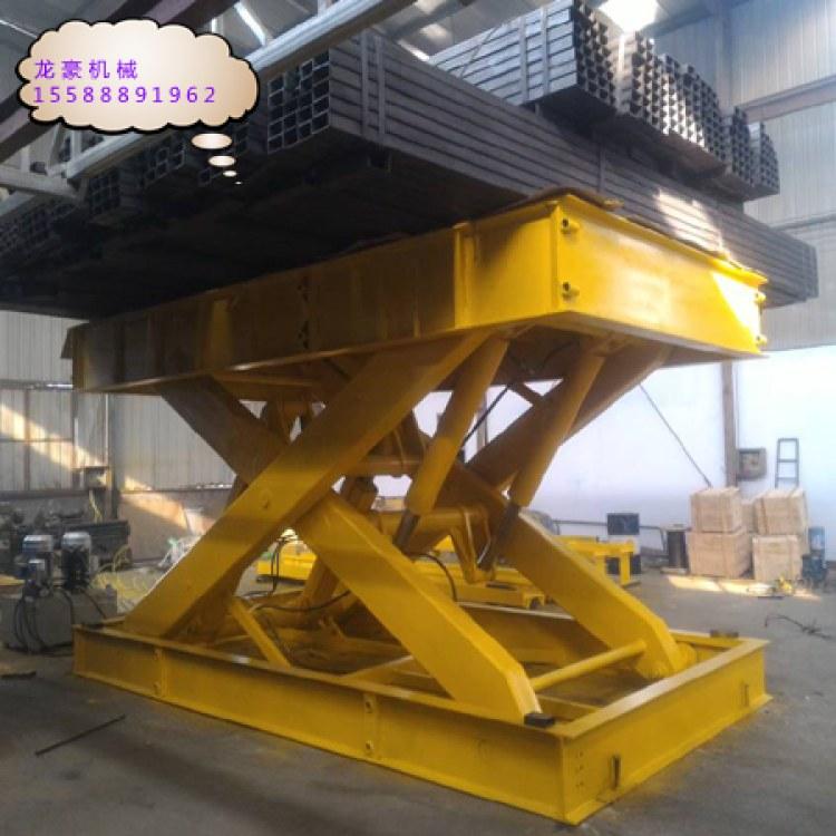 剪叉式升降机使用范围广操作简单耐用各种尺寸载重均可定做