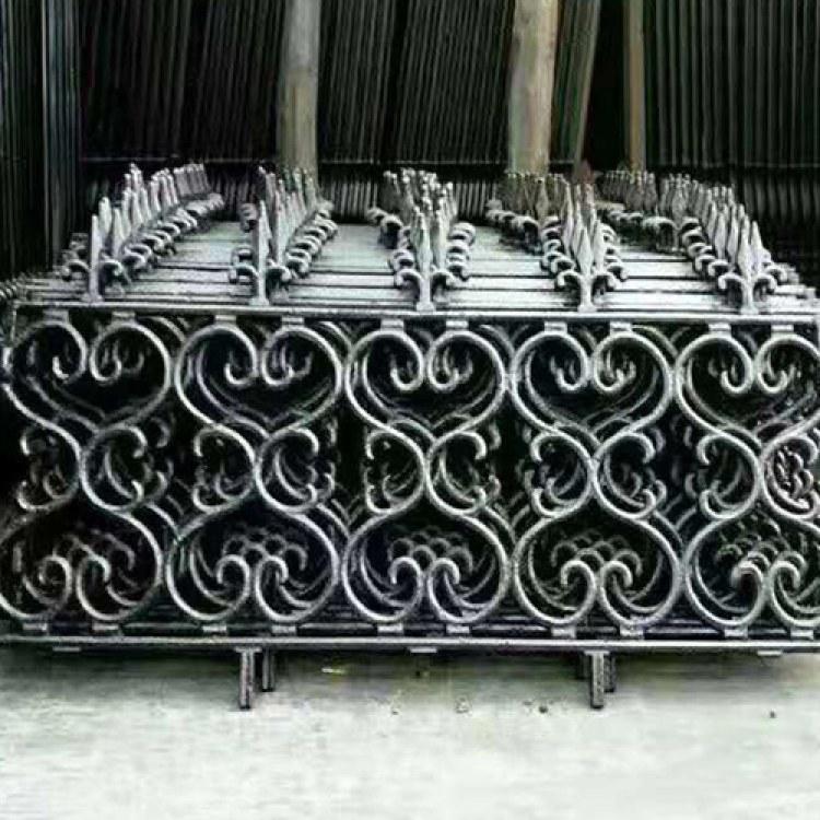 卓越 直销 铸铁围栏批发 铁艺护栏 铁艺栏杆围墙