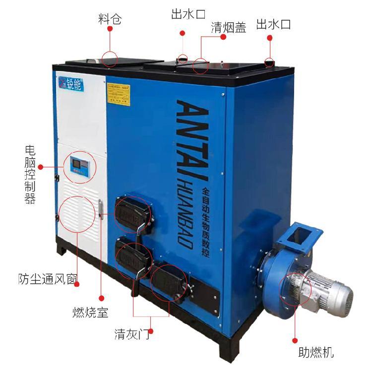 300平锐能生物质取暖炉 生物质取暖炉价格