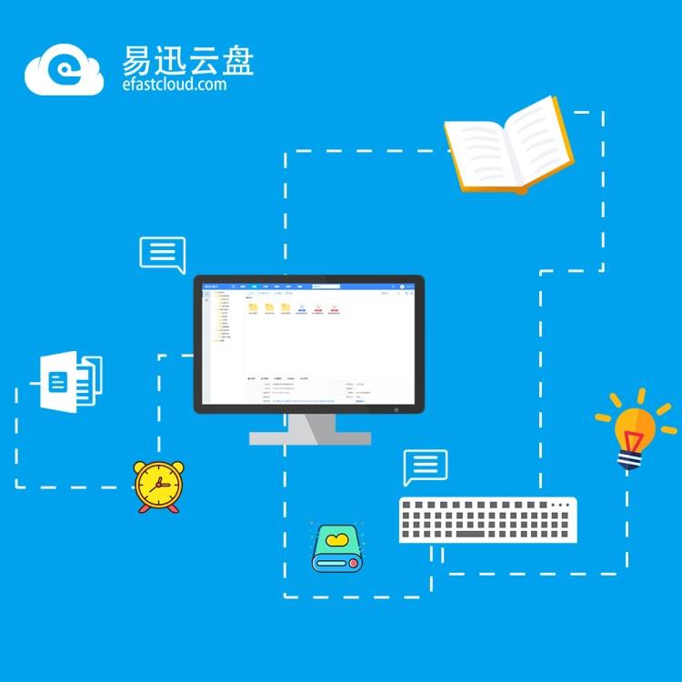 易迅云盘 企业文件管理软件 公司文档管理工具软件