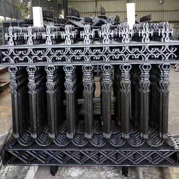 卓越 铸铁围栏批发 铸铁护栏 铁艺护栏 厂家直销铁艺栏杆围墙