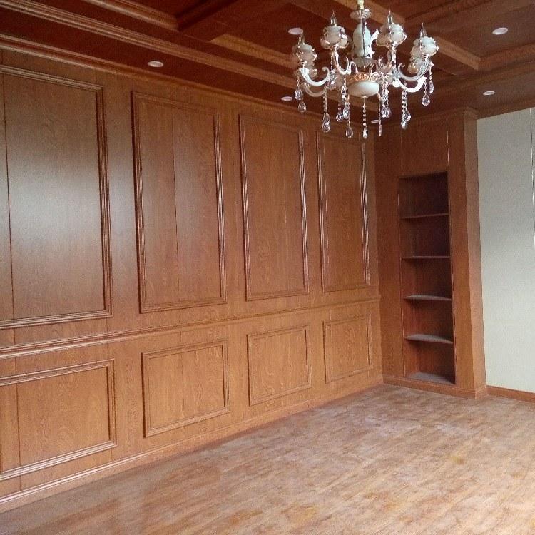 600墙裙护墙板竹木纤维集成墙板吊顶板材墙面装饰全屋定制