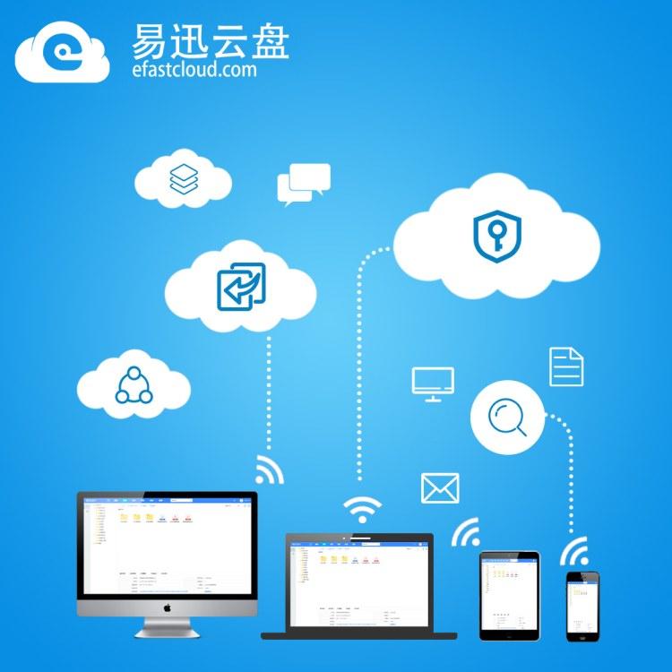 易迅云盘 公司文件管理软件 文件共软件系统
