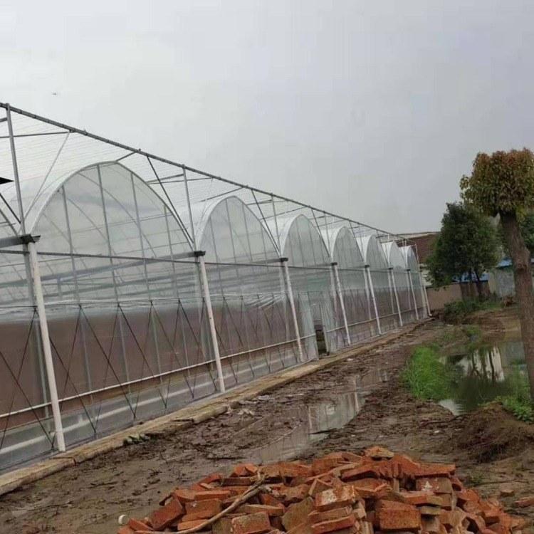 蔬菜大棚蔬菜大棚钢管设备 蔬菜大棚钢管