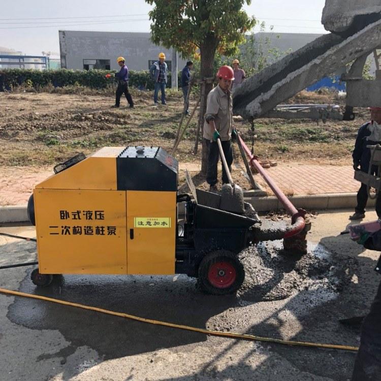 泊科琪二次构造柱泵 二次结构柱泵直销
