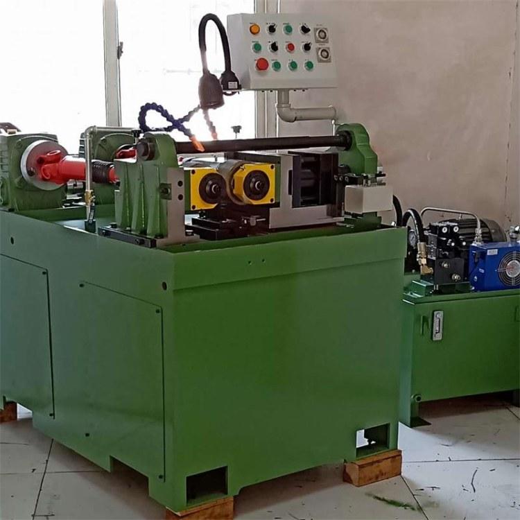 厂家直销两轴液压滚花机-全自动H-30滚丝机-富久机械滚花机-直纹滚丝机