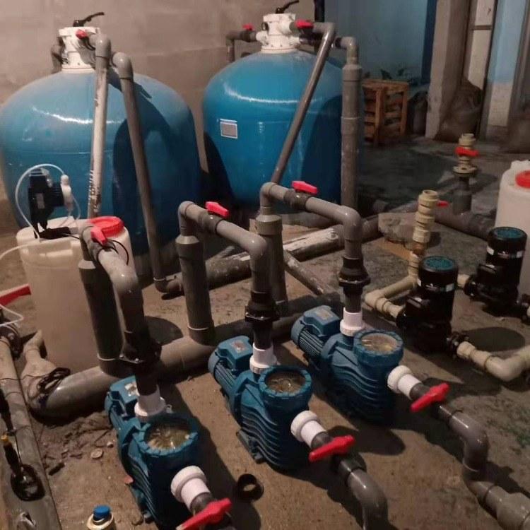 山东地区游泳馆净水设备 泳池水处理沙缸过滤设备厂家直销多少钱