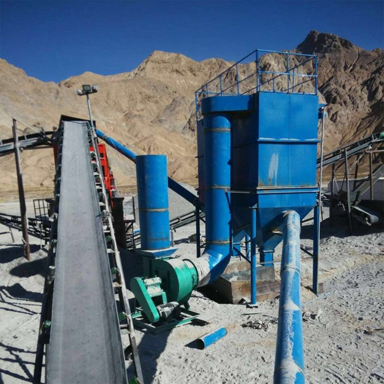 净能定制供应 矿山破碎机碎石场矿山布袋式除尘器冲击式破碎机除尘器