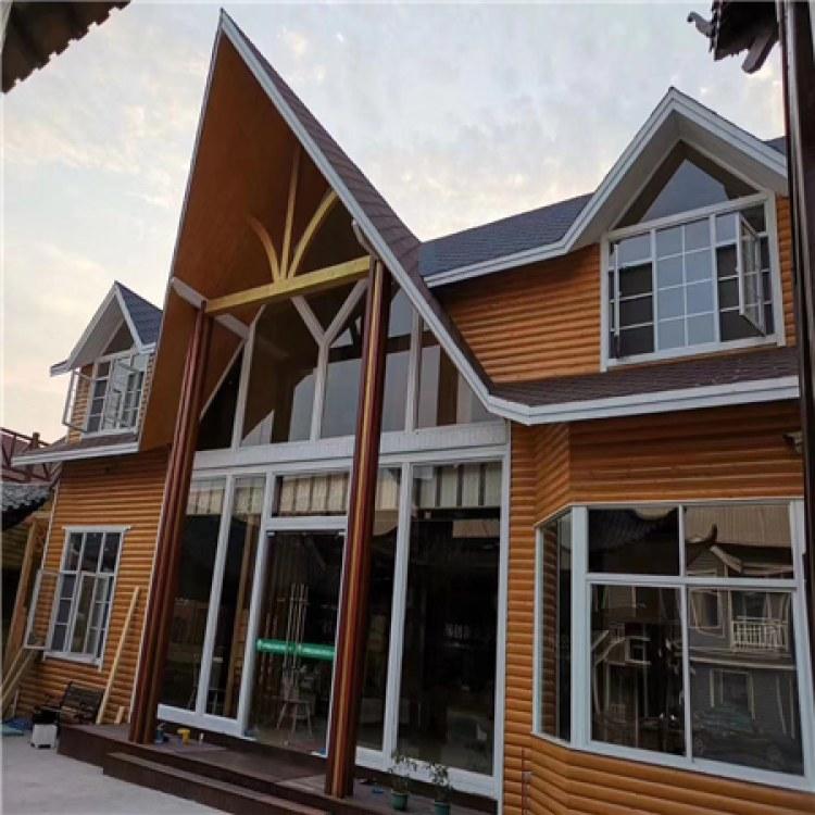 防腐木别墅定制 欧式中式风格造型多样 施工专业